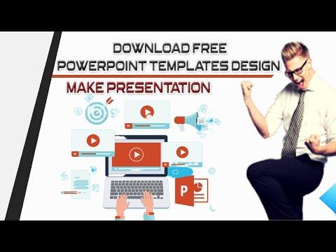 Download Free PowerPoint Templates Design For Presentations - Full Explain In [Hindi/Urdu]