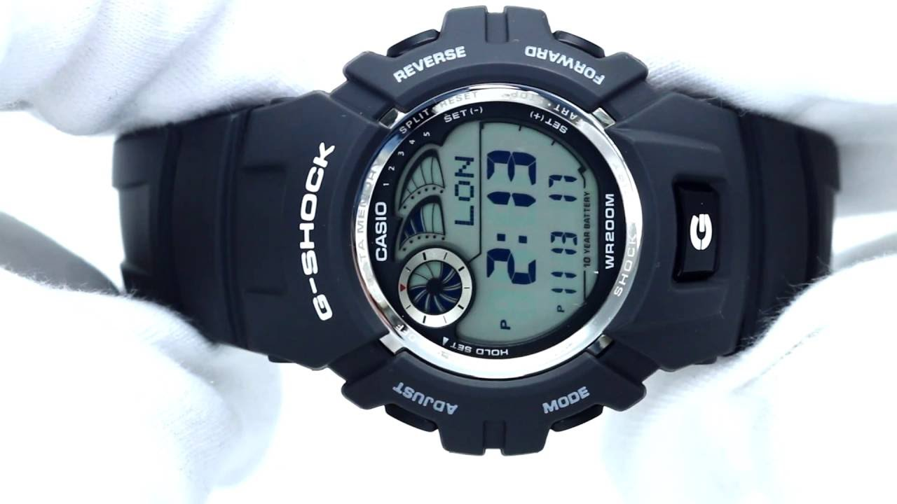 hands on with the men s casio watch g 2900f 8ver youtube rh youtube com Casio Digital Camera Manual Casio Chronograph Manuals