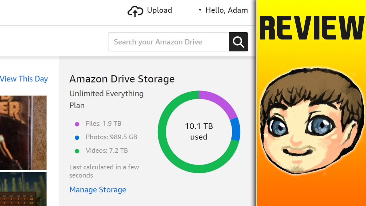 UNLIMITED?! // Amazon Cloud Drive Review // July 2016