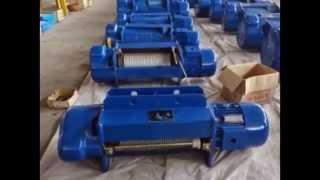 видео Таль электрическая цепная DHP 2,0 т 12 м
