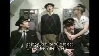 Monty Python - Airplane Hijack VOSTFR (Détournement d'avion)