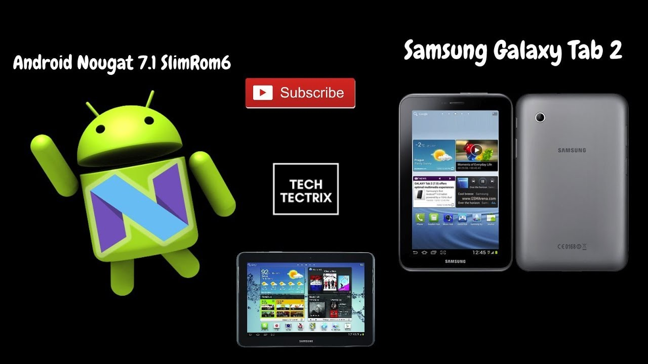 How to Install SlimRom6 on Samsung Galaxy Tab2 (P3110, P3113, P5110, P5113,  P3100 & P5100) #YTBoast
