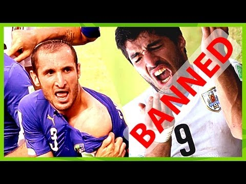 Luis Suárez BITE Chiellini: FIFA BANS Suárez 4 month world-wide football activity