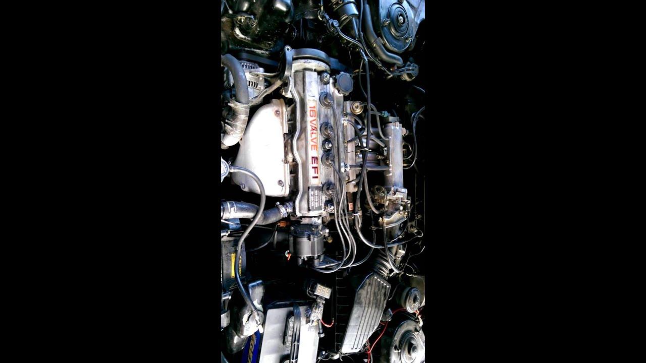 Repair Of The Timing Belt 1990 Geo Prizm 1 6l Toyota