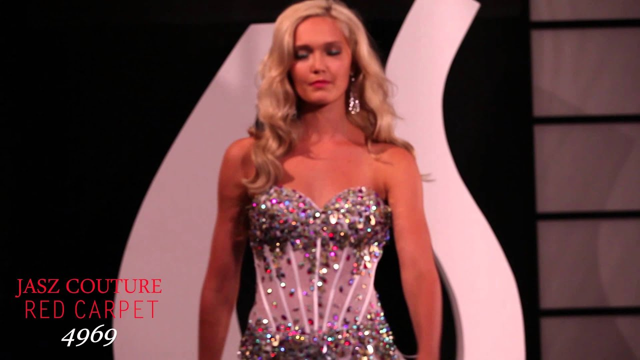 Jasz Couture 4969 High Low Dress - YouTube