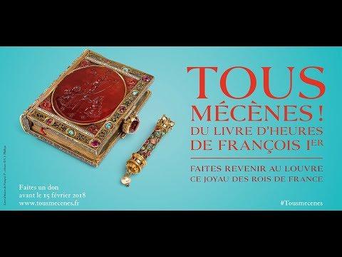 Tous mécènes du Livre d'heures de François Ier - Musée du Louvre