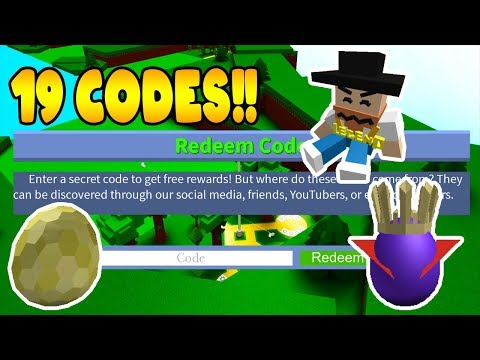19 CODES!!!! Build a Boat for Treasure (2020) ROBLOX