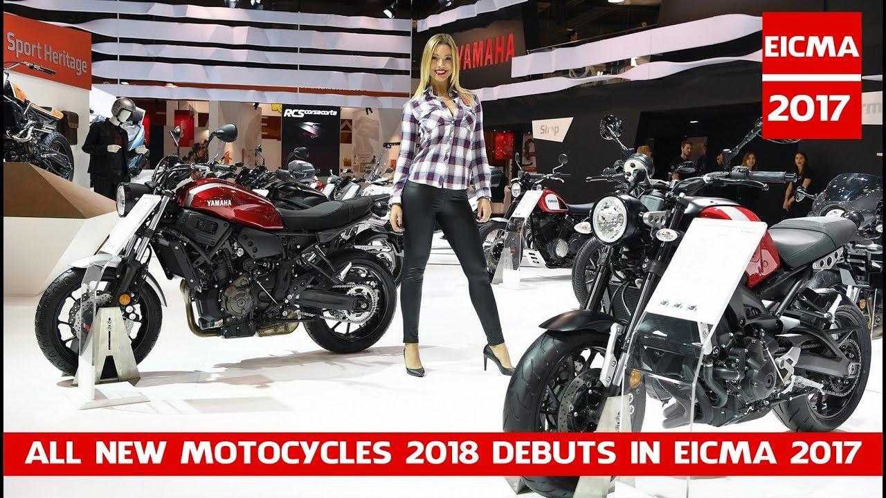 All New Motocycles 2018 Debuts In Eicma 2017 Tutte Le Novità 2018