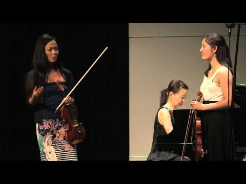 Chee-Yun - masterclass on Violin Concerto No. 1, Op. 26 by B