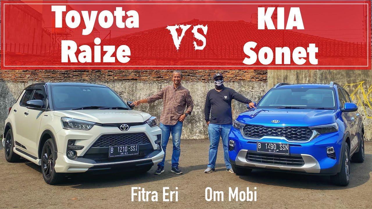 Pilih mana TOYOTA RAIZE atau KIA SONET | Ft: Fitra Eri