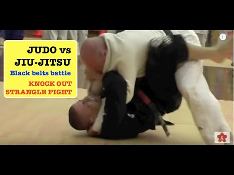 JUDO Vs JUJITSU Coaches KO Fight