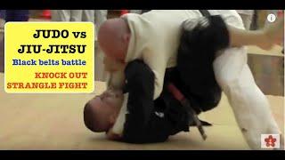JUDO vs JUJITSU coaches KO fight