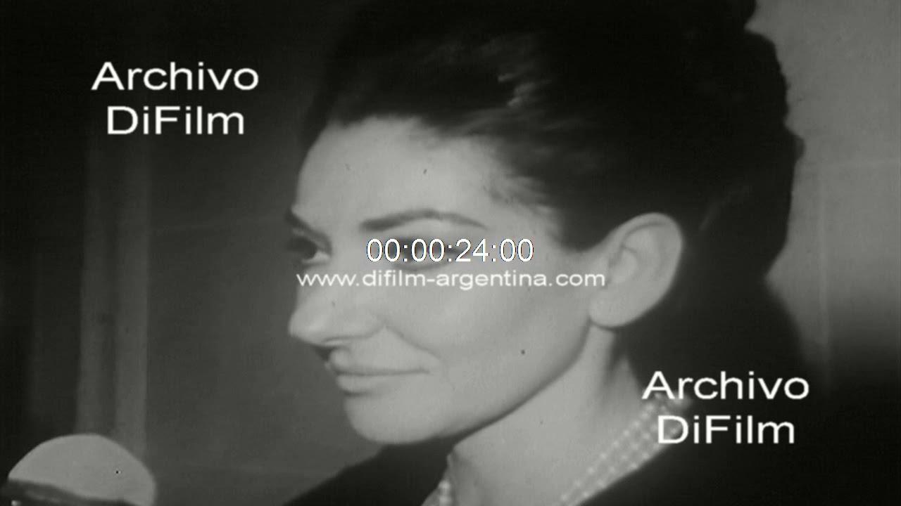 Entrevista A La Soprano Maria Callas Sobre Aristoteles Onassis 1966