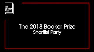 Man Booker Prize 2018 Shortlist party