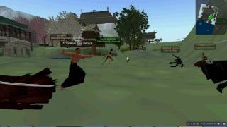 Second Life Raid at Feudal Nippon.