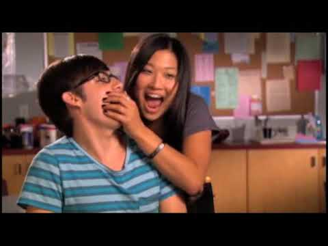 glee artie and tina dating games