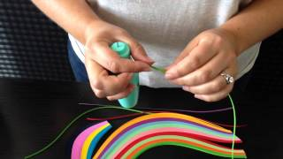 QUILL EASE QUILLING TOOL VIDEO TUTORIAL