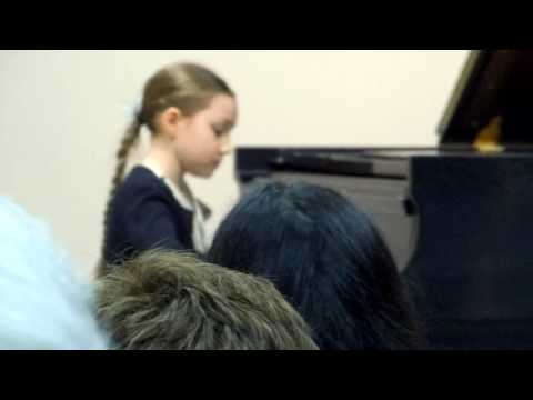 Kate Krehel- Piano Teachers Forum of Central Jersey Honors Recital at Jacobs Music Lawrenceville NJ