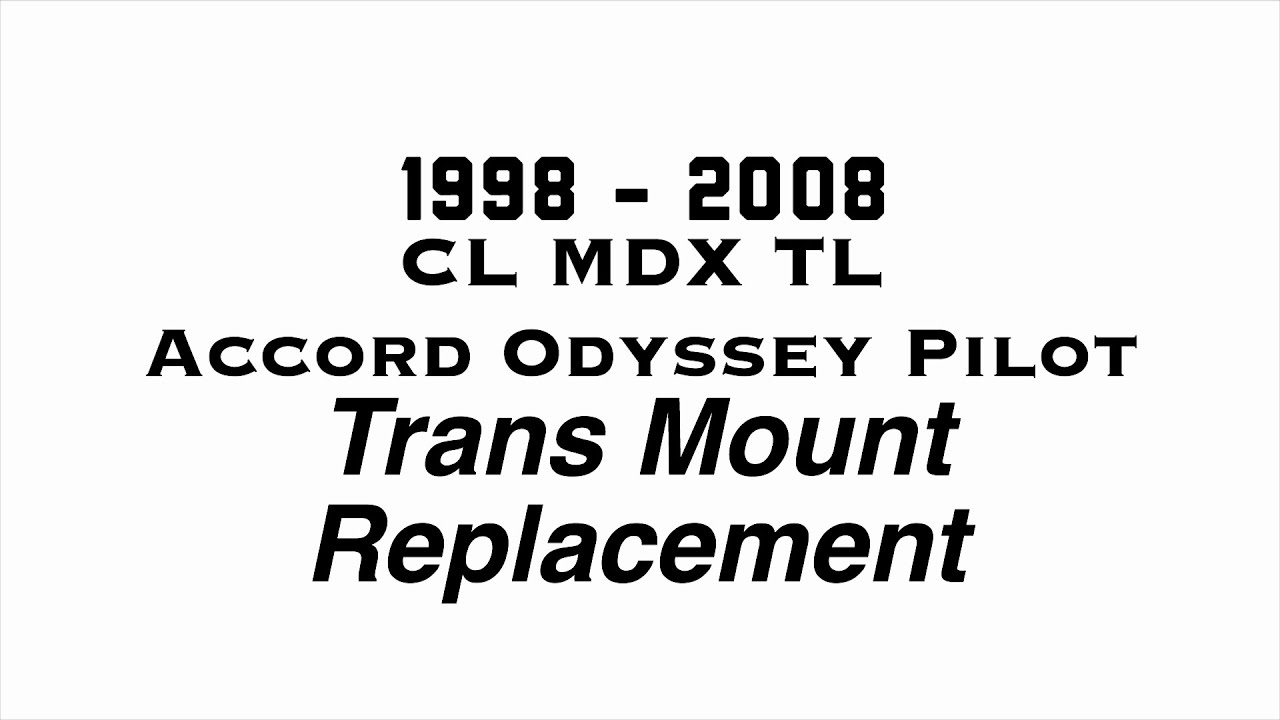 Transmission Mount for Acura CL MDX TL// Honda Accord Odyssey Pilot