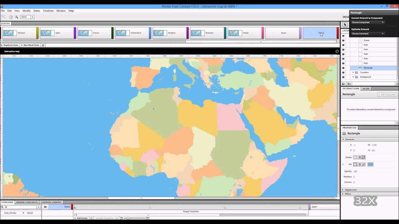 Speed build interactive world map in adobe flash catalyst and speed build interactive world map in adobe flash catalyst and illustrator cs55 gumiabroncs Images