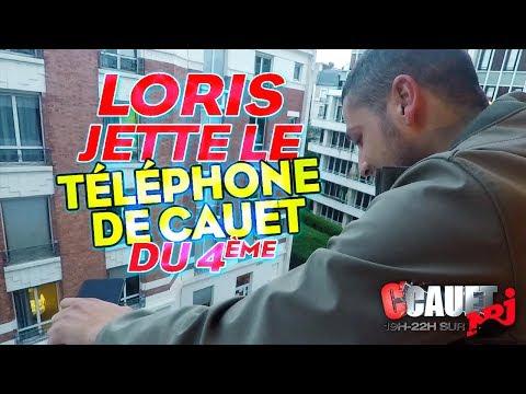 LORIS JETTE LE TELEPHONE DE CAUET DU 4 EME ETAGE