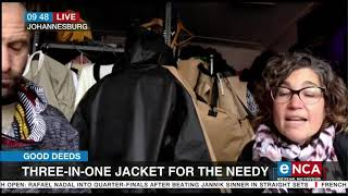 Good deeds | Three-in-one jacket for the needy