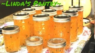 ~Canning Habanero Apple Jelly With Linda's Pantry~