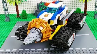 LEGO Experimental Trucks, Police Cars, tractor and Dump Truck Toy Vehicles For Kids