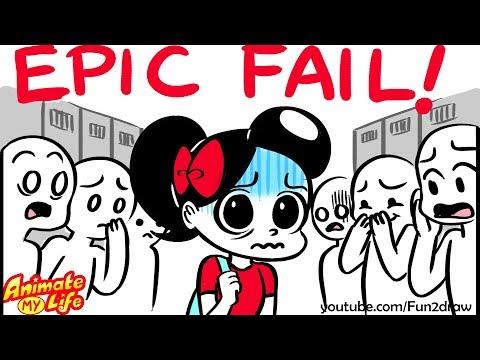 High School EPIC FAIL - Animated   Animate My Life