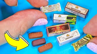 Мини Сырки в Шоколаде для Кукол! Еда из полимерной глины своими руками! Анна Оськина