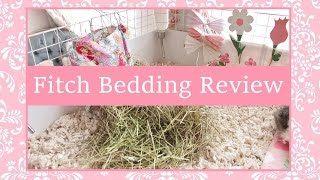Fitch Bedding Review ~ With Added Piggy Cuteness!