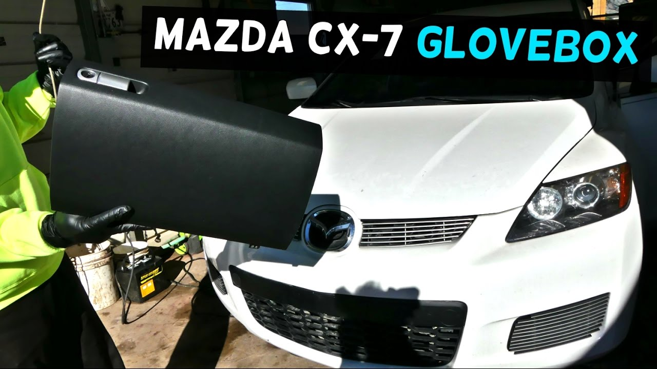 Mazda Cx 7 Cx7 Glovebox Removal Replacement Glove Box Youtube 2008 9 Grand Touring Tire Pressure Monitoring System Tpms Wiring Diagram