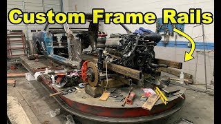 Building Custom Frame Rails For My 1966 Ford Mustang 5.0 Coyote Swap