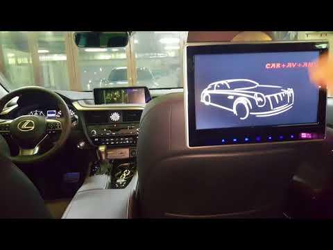 Lexus RX 2017 управление штатной магнитолой с задних сидений