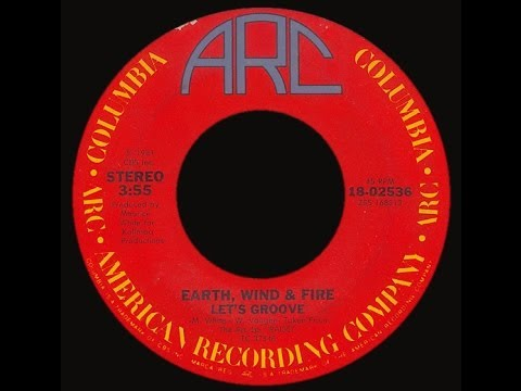 Earth, Wind & Fire ~ Let's Groove 1981 Disco Purrfection Version