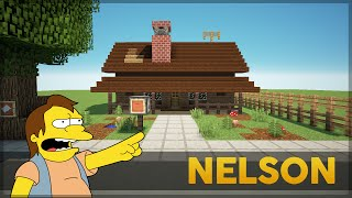 Minecraft: Construindo a Casa do Nelson (Simpsons)