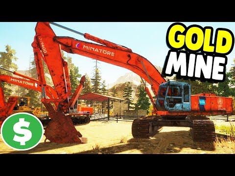 Download Youtube: HUGE GOLD MINE STARTS UP  | Gold Rush: The Game Gameplay