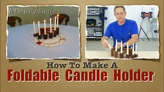 Woodworkers Holiday Candle Holder Project
