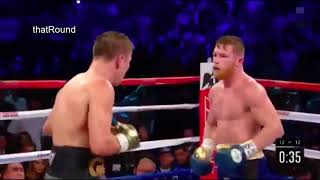 BRAWL IN THE RING   Gennady Golovkin vs Canelo Álvarez 12th round