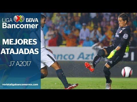 Mejores Atajadas - Jornada 7 A2017.