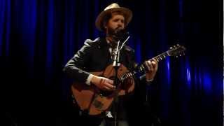 Thomas Dybdahl - Still My Body Aches (live) - Botanique, Brussels, 13 March 2012