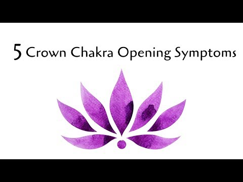 5 Crown Chakra Opening Symptoms - YouTube