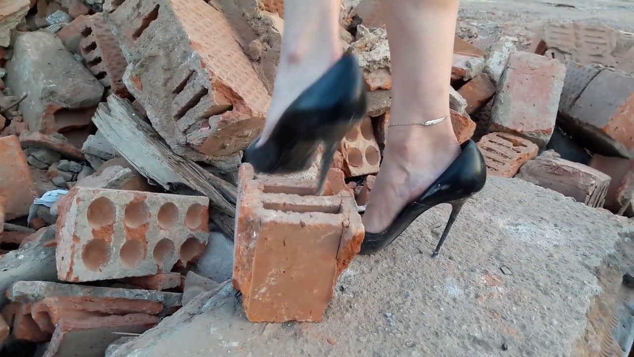 High Heels Shoes Abused