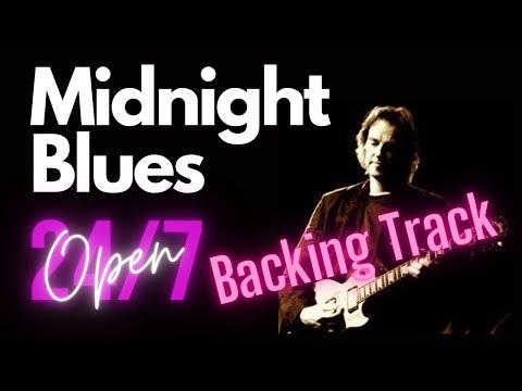 ¨Midnight Blues¨ Em (Mi menor) Backing Track