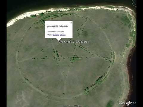 Huge Pentagram Found On Google Earth In Kazakhstan (2013 UPDATE)