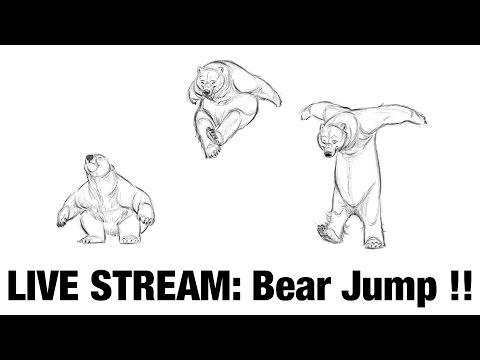"Aaron Blaise Live Stream - ""Basic Physics & Timing of an Animated jump"" (3/2/17)"