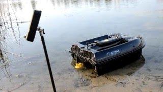 На кораблик CarpBoat або Amina встановлюємо ехолот Lucky