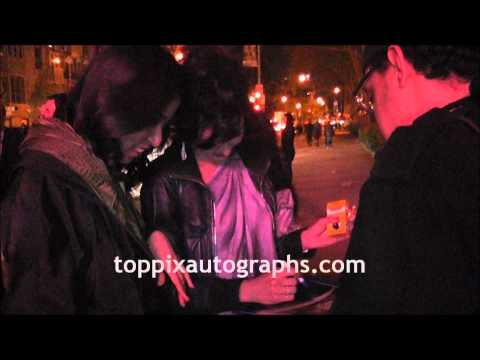 Katrena Rochell  Signing Autographs at the Tribeca Film Festival in NYC
