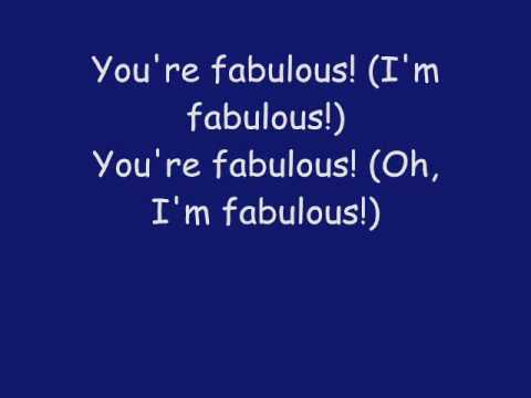 Phineas And Ferb - You're Fabulous Lyrics (HQ)
