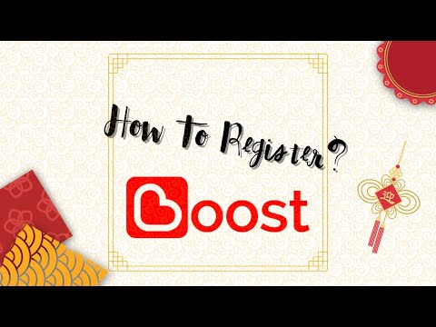 Tutorial how to get a free topup/credits from Boost app (for Malaysian)